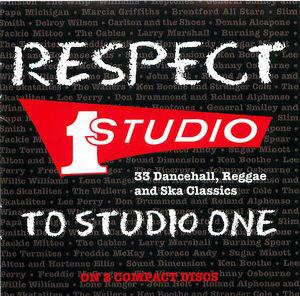 Respect To Studio One CD 1