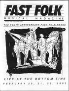 Fast Folk Musical Magazine (Vol. 6, No. 4) Fast Folk Revue-Live at the Bottom Line 1992
