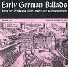 Early German Ballads, Vol. 1: 1280-1619