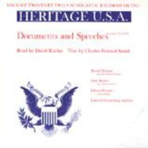 Heritage USA, Vol. 2, Part 2: Documents and Speeches
