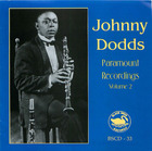 Johnny Dodds: Paramount Recordings, Volume 2