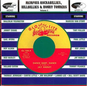 Memphis Rockabillies, Hillbillies and Honky Tonkers, vol. 5