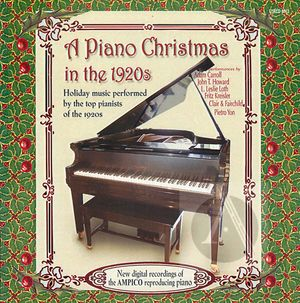A Piano Christmas in the 1920s