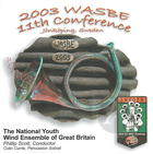 2003 WASBE: The National Youth Wind Ensemble of Great Britain