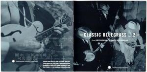 Classic Bluegrass Vol. 2 from Smithsonian Folkways