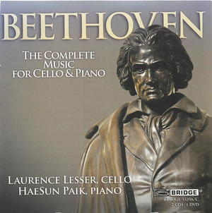 Laurence Lesser, Haesun Paik: Beethoven, The Complete Music for Cello and Piano