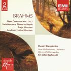 Brahms: Piano Concertos/Overtures