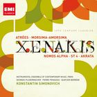 Iannis Xenakis: Atrées, Morsima-Amorsima, Nomos Alpha, ST 4, Achorripsis