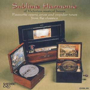 Sublime Harmony: Victorian Musical Boxes