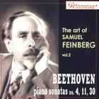 The Art of Samuel Feinberg, Vol. 2 - Beethoven: Piano Sonatas Nos. 4, 11, and 30