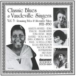 Classic Blues & Vaudeville Singers Vol. 5 (1922-1930)