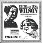 Edith & Lena Wilson Vol. 2 (1924-1931)
