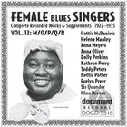 Female Blues Singers Vol. 12 M/O/P/Q/R (1922-1935)