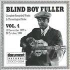 Blind Boy Fuller: Complete Recorded Works In Chronological Order, Vol. 4