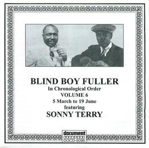 Blind Boy Fuller: Complete Recorded Works In Chronological Order, Vol 6