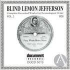 Blind Lemon Jefferson: Complete Recorded Works In Chronological Order, Vol. 3