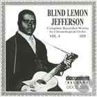 Blind Lemon Jefferson: Complete Recorded Works In Chronological Order, Vol. 4