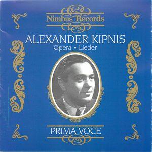 Alexander Kipnis (1891-1978): Opera and Lieder | Alexander Street, a  ProQuest Company