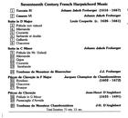 17th Century French Harpsichord Music