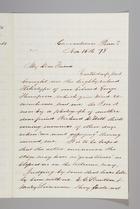 Letter from Sarah Pugh to William Lloyd Garrison, November 15, 1878