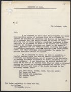 Letter from A. Alderman to the Under Secretary of State for War, Oct. 7, 1939