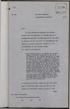 Copy of Letter from C. Mallet to Sir Edward Grey re: Conflicting Land Claims in Panama Canal Zone, July 18, 1912