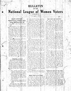 Bulletin, November 1927