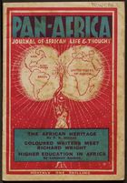 Pan-Africa: Journal of African Life and Thought, Vol. I, No. 8, August 1947