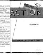 Action, vol. 3 no. 5, September 1947