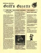Griff's Gazette, Volume 2, Issue 4.5, April 1988