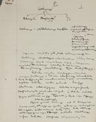 Cetshwago - Handwritten Field Notes, Undated