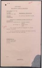 Confidential from Foreign Office to Washington re: Sierra Aranzazu Incident, September 22, 1964