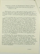 Secretary's Informal and Extemporaneous Remarks at Meeting of Ambassadors of Other than Allied and Bloc Nations, October 22, 1962