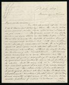 Letter from Francis Russell to Samuel Pratt Winter, July 8, 1864
