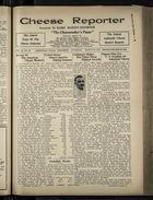 Cheese Reporter, Vol. 54, no. 28, Saturday, March 22, 1930