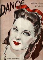 Dance (Magazine), Vol. 7, no. 4, March, 1940, Dance, Vol. 7, no. 4, March, 1940