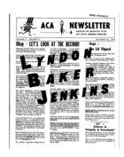 ACA Newsletter, Vol. 2 no. 8, October 26, 1964