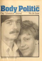 The Body Politic no. 24, May/June 1976