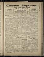 Cheese Reporter, Vol. 54, no. 46, Saturday, July 26, 1930