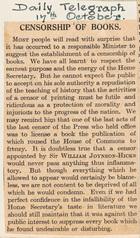 Censorship of Books
