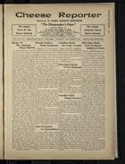 Cheese Reporter, Vol. 54, no. 52, Saturday, September 6, 1930