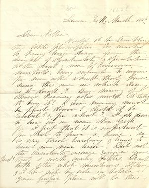 The Journal of Miss Susan Walker, March 3rd to June 6th, 1862