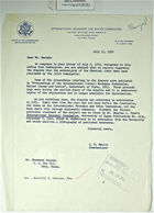 Letter from Commissioner Leland H. Hewitt to Brownson Marlsh re: Reports on Chamizal Border Dispute Have Not Yet Been Published by Joint Commission, July 5, 1959