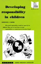 Developing Responsibility in Children
