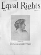 Equal Rights, Vol. 12, no. 50, January 23, 1926