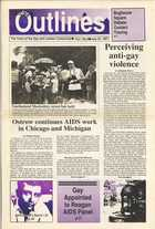 Chicago Outlines The Voice of the Gay and Lesbian Community Vol.1 No.8 July 23, 1987