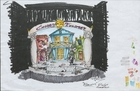A Funny Thing Happened on the Way to the Forum: Rough color sketch - marker