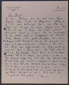 Letter from David Simonsen to Markus Brann, April 4, 1915