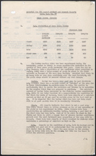 R.S. Memo No. 67 re: Material for the August Cabinet and General Reports on Home Grown Cereals, 1945