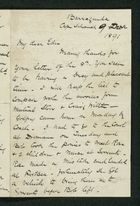 Letter from Robert Anderson to Edith Thompson, December 9, 1891